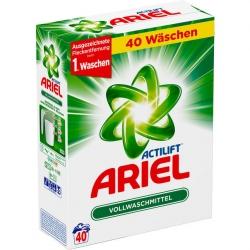 ARIEL proszek do prania białe 2,6kg 40 p NIEMCY