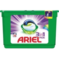 ARIEL POWER 3w1 COLOR - kapsułki do prania 16 szt.IMPORT