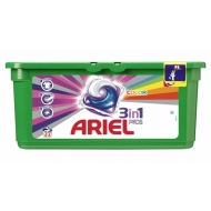 ARIEL POWER 3w1 COLOR - kapsułki do prania 32 szt.
