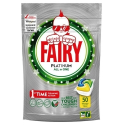 FAIRY Platinum - tabletki 50 szt. LEMON IMPORT UK