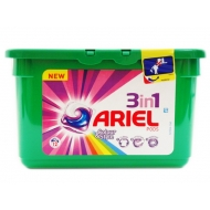 ARIEL POWER 3w1 COLOR - kapsułki do prania 12 szt.
