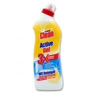AT HOME ACTIVE GEL - żel do WC lemon 750ml