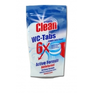 AT HOME CLEAN - tabletki do WC 6x25g