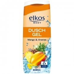 ELKOS - żel pod prysznic Mango&Ananas 300ml. (pomarańczowy)